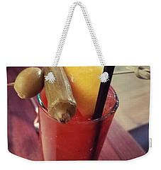 5 Church  St. Bloody Mary Weekender Tote Bag
