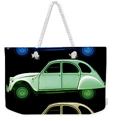 5 Citroens Weekender Tote Bag by Andrew Fare
