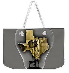 Dallas Texas Map Collection Weekender Tote Bag