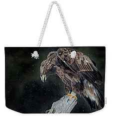 Golden Eagle Weekender Tote Bag by CR Courson