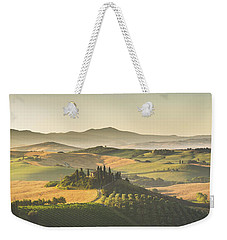 Golden Tuscany Weekender Tote Bag by JR Photography