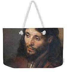 Head Of Christ Weekender Tote Bag