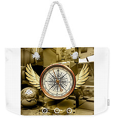 Weekender Tote Bag featuring the mixed media Journey by Marvin Blaine