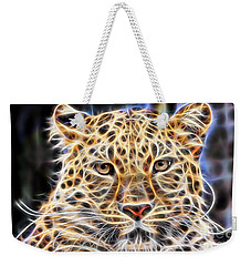 Leopard Collection Weekender Tote Bag by Marvin Blaine