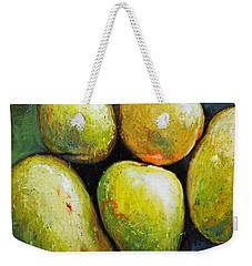 5 Mangos Weekender Tote Bag