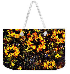 5 O'clock Weekender Tote Bag by Cristina Mihailescu