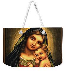 Oval Madonna Weekender Tote Bag