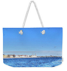 Weekender Tote Bag featuring the pyrography Peterburg Summer by Yury Bashkin