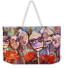 5 Poppies For The Dead Weekender Tote Bag