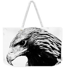 Portrait Of Bird Of Prey  Weekender Tote Bag