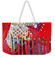 Red Series 4 Weekender Tote Bag