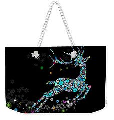 Reindeer Design By Snowflakes Weekender Tote Bag