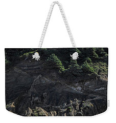 Weekender Tote Bag featuring the photograph Roads End by Peggy Hughes