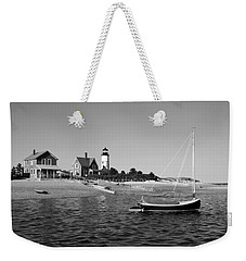 Sandy Neck Lighthouse Weekender Tote Bag by Charles Harden