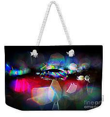 Sparks Weekender Tote Bag by Sylvie Leandre