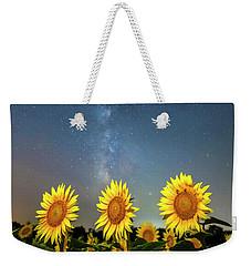 Sunflower Galaxy IIi Weekender Tote Bag