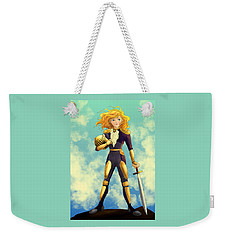 Tammy Wurtherington Freedom Fighter Weekender Tote Bag