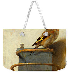 The Goldfinch Weekender Tote Bag
