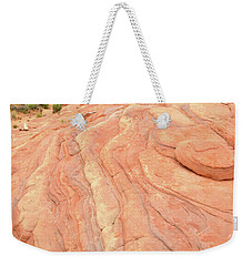 Weekender Tote Bag featuring the photograph Wave Of Color In Valley Of Fire by Ray Mathis
