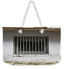 Window Bars Weekender Tote Bag