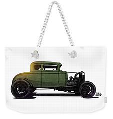 5 Window Hot Rod Weekender Tote Bag