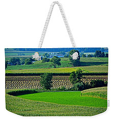 50 Shades Of Green Weekender Tote Bag