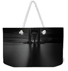 Weekender Tote Bag featuring the photograph 50 Shades Of Verrazano by Edgars Erglis