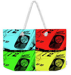 512m Pop Weekender Tote Bag by John Schneider