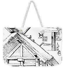 5.14.japan-3-detail-a Weekender Tote Bag