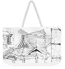 5.17.japan-4-detail-a Weekender Tote Bag