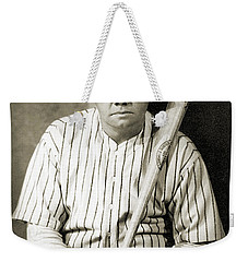 Weekender Tote Bag featuring the photograph George H. Ruth (1895-1948) by Granger