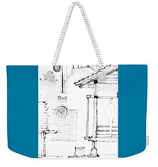 5.20.japan-4-detail-d Weekender Tote Bag