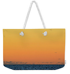 Weekender Tote Bag featuring the photograph 5.24.10 Am June 12-2016 Lake Simcoe  by Lyle Crump
