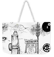 5.26.japan-6-detail-a Weekender Tote Bag