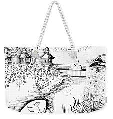 5.27.japan-6-detail-b Weekender Tote Bag