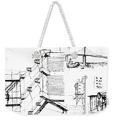 5.32.japan-7-detail-b Weekender Tote Bag
