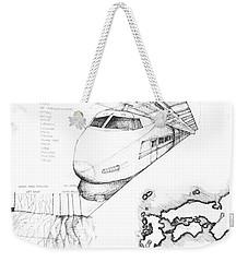 5.33.japan-7-detail-c Weekender Tote Bag