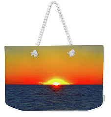 Weekender Tote Bag featuring the photograph 5.34.46 Am June 12-2016 Eye In The Sky  by Lyle Crump