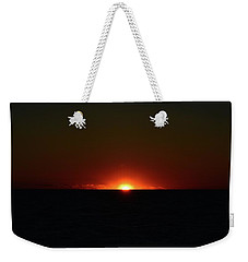 Weekender Tote Bag featuring the photograph 5.34.46 Am June 12-2016  by Lyle Crump