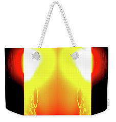 Weekender Tote Bag featuring the photograph 5.35.58 Am June 12-2016 Three  by Lyle Crump