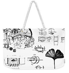 5.36.japan-8-detail-b Weekender Tote Bag