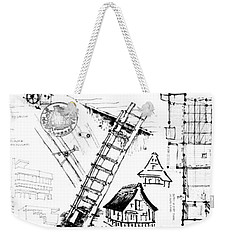 5.37.japan-8-detail-c Weekender Tote Bag