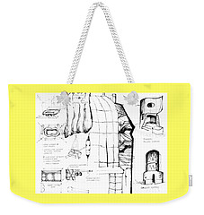 5.39.japan-9-detail-a Weekender Tote Bag