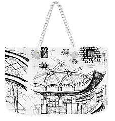 5.40.japan-9-detail-b Weekender Tote Bag