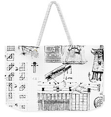 5.41.japan-9-detail-c Weekender Tote Bag