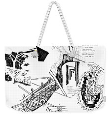 5.42.japan-9-detail-d Weekender Tote Bag
