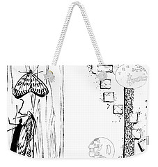 5.4.japan-1-butterfly-and-walkway Weekender Tote Bag