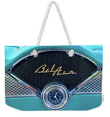 55 Chevy Dash Weekender Tote Bag
