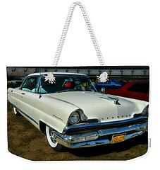 '56 Lincoln Weekender Tote Bag by Victor Montgomery