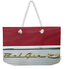 57 Chevy Bel Air Weekender Tote Bag